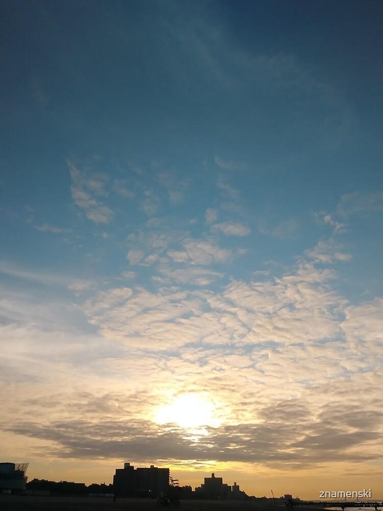 Sunlight, Coney Island Beach, #Sunlight, #Coney, #Island, #Beach, #ConeyIsland, #ConeyIslandBeach by znamenski
