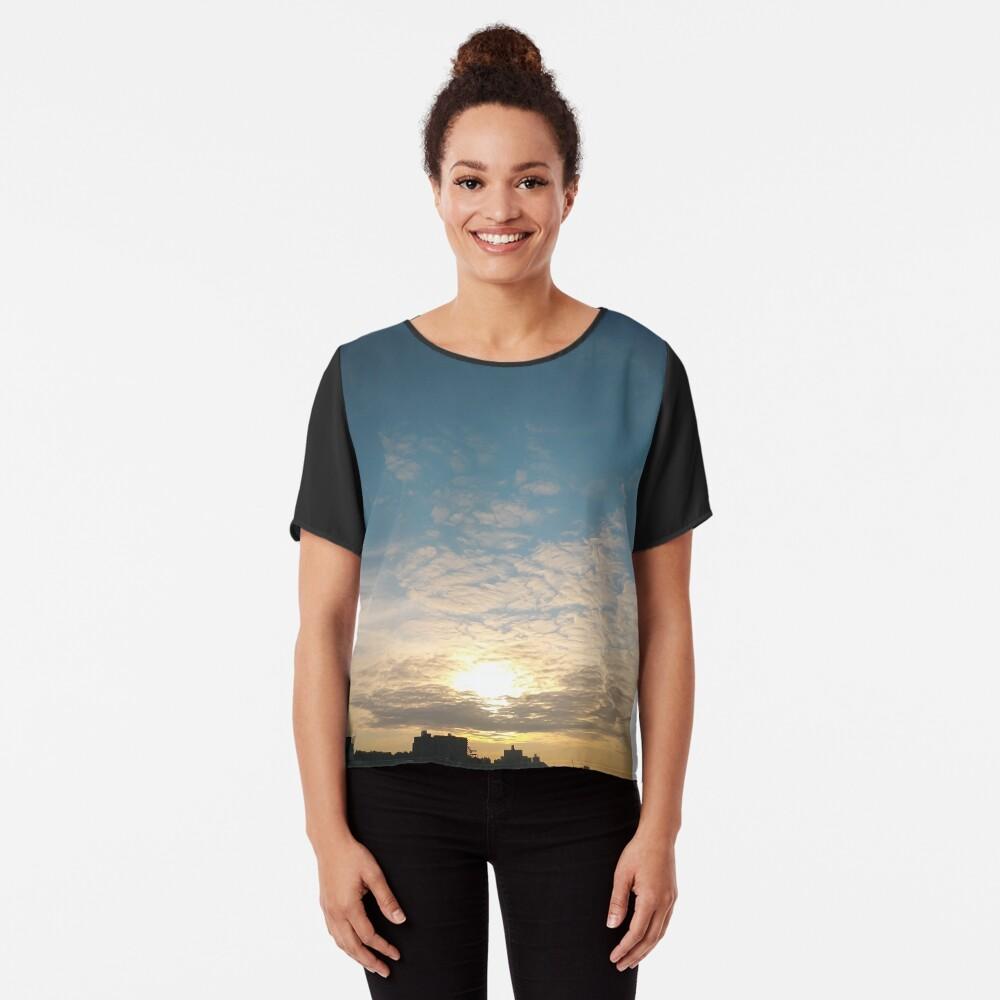 Sunlight, Coney Island Beach, #Sunlight, #Coney, #Island, #Beach, #ConeyIsland, #ConeyIslandBeach Chiffon Top