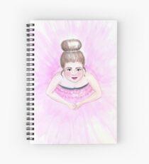Little ballerina Spiral Notebook