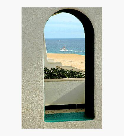 Window to Mexico Photographic Print