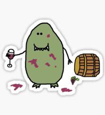 Oenology Monster Sticker