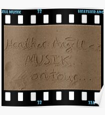 Heather Angell Musik - On Tour Poster