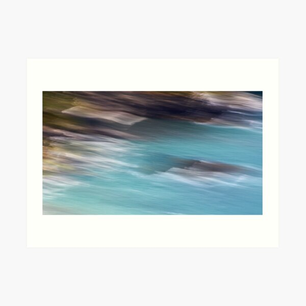 Beeny Cliffs Art Print