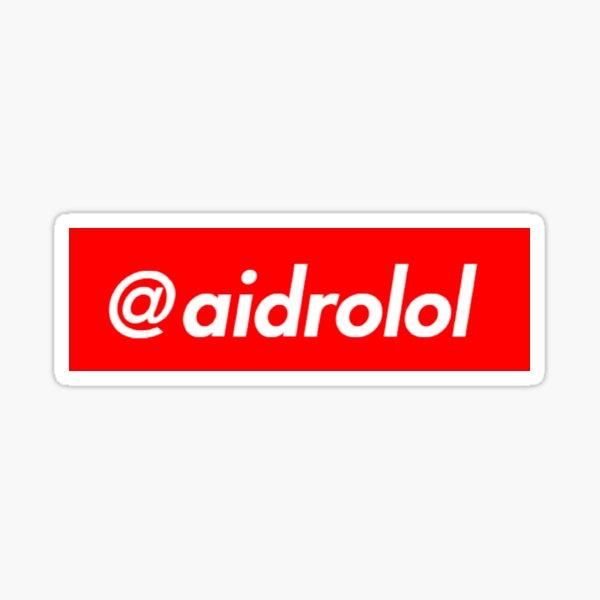 @aidrolol v1 Sticker