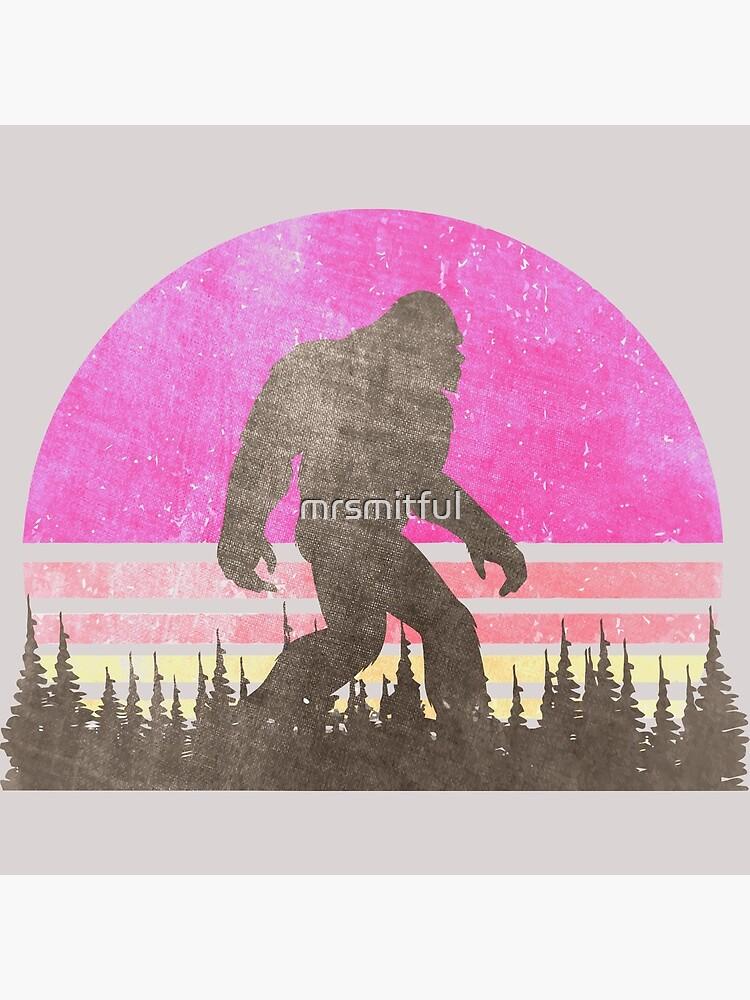 Vintage Distressed Bigfoot Shirt - Sasquatch Shirt - Bigfoot T Shirts by mrsmitful