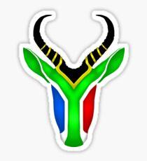 South Africa Springbok 2 Sticker