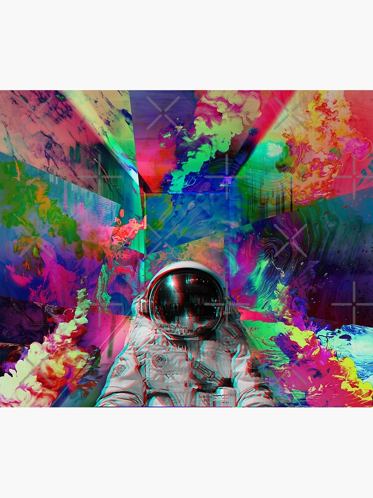 Tripping Space Man by mindsgallery
