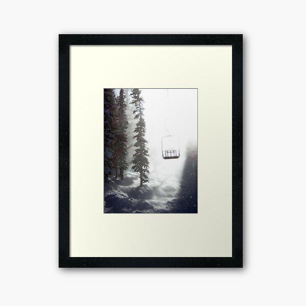 Chairway to Heaven Framed Art Print