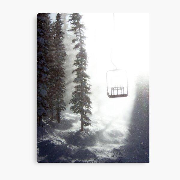 Chairway to Heaven Metal Print