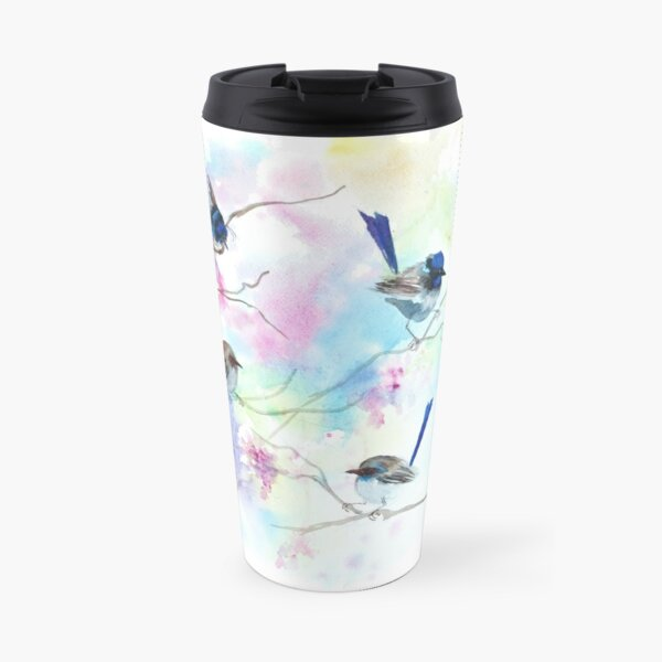 Fairies in the garden  Travel Mug