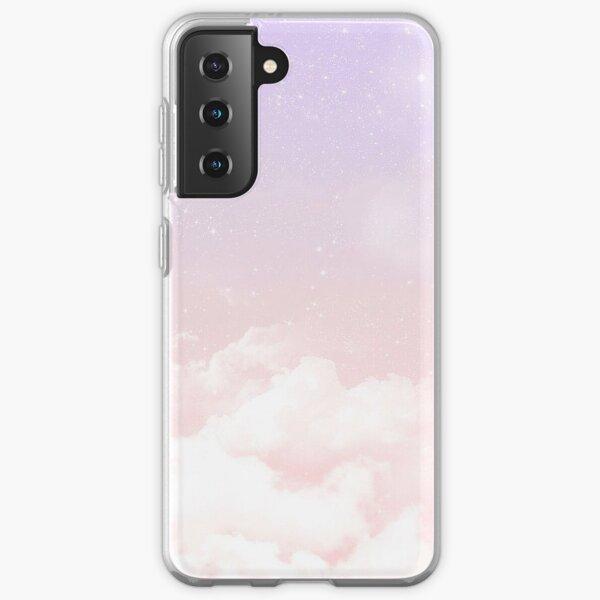 Cas de nuages pastels Coque souple Samsung Galaxy