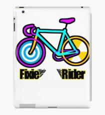 Fixie Rider iPad Case/Skin