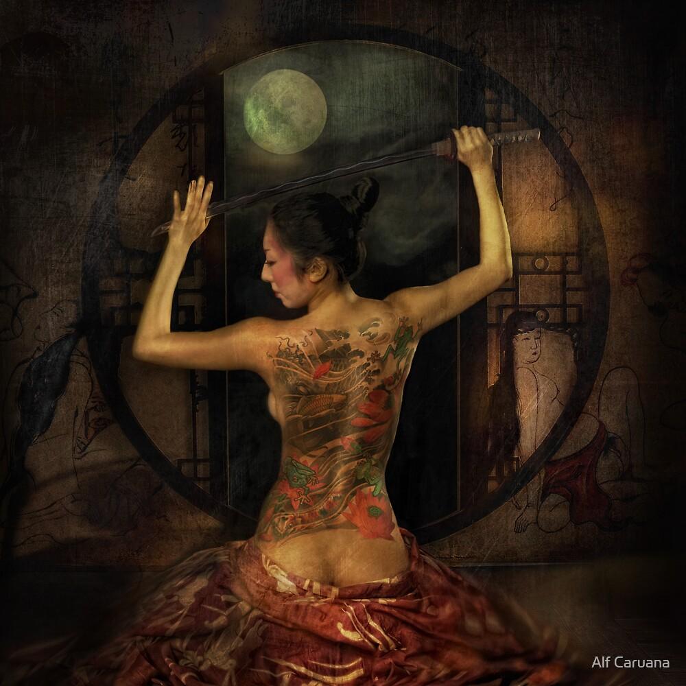 night of the Geisha by Alf Caruana