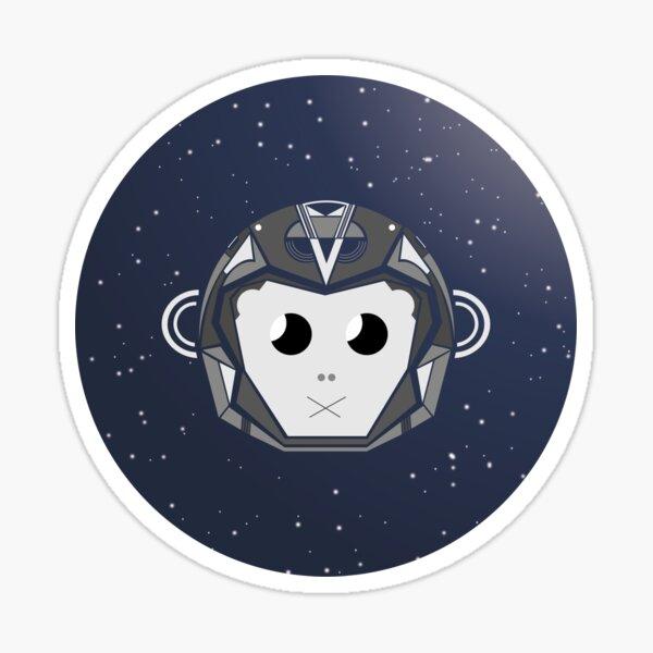 Astro Monkey Sticker