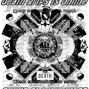 Death Grips - Eye to Eye With Death (Desaturated) by talskinth