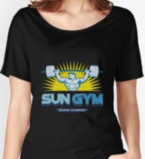 The Miami Gym Women's Relaxed Fit T-Shirt
