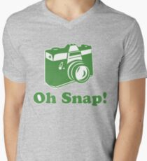 Oh Snap! Men's V-Neck T-Shirt