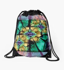 A Window to the Soul Drawstring Bag