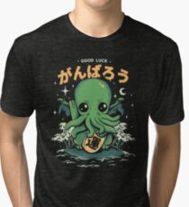 Good Luck Cthulhu Tri-blend T-Shirt