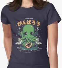 Good Luck Cthulhu Fitted T-Shirt
