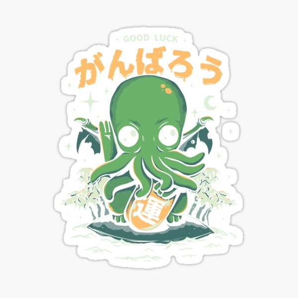 Good Luck Cthulhu Sticker