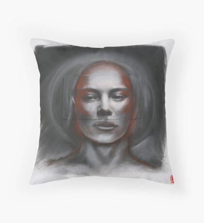Anima Collage 1 Throw Pillow