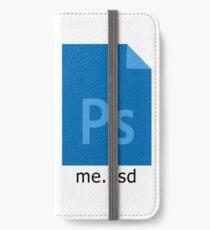 me.psd - Photoshop File Design iPhone Wallet/Case/Skin