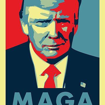 Make America Great Again! Trump 2020! by Quatrosales