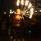 Fire dance 1 by Jeffrey Diamond