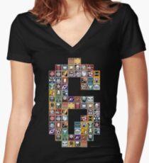 Rainbow 6: Operators Women's Fitted V-Neck T-Shirt