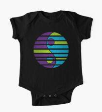 Body de manga corta para bebé Moonwave