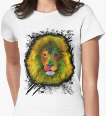 OCD LION HEAD Womens Fitted T-Shirt
