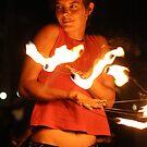 Fire dance 3 by Jeffrey Diamond