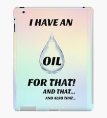 I have an oil for that! Pastel iPad Case/Skin
