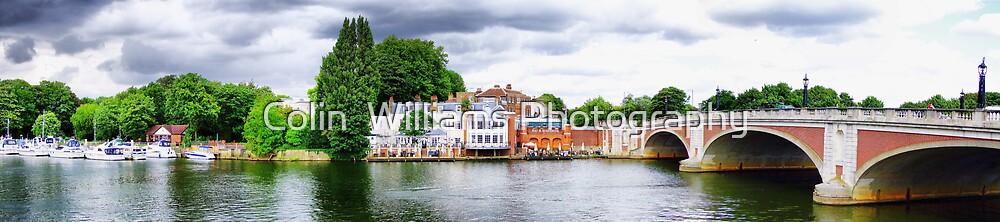 Hampton Court Bridge by Colin  Williams Photography