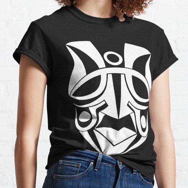 Maske Totem Indianer Häuptling weiß Classic T-Shirt