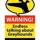 «Interminable señal de peligro hablando» de RichSkipworth