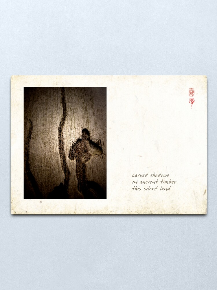 Alternate view of Silent Land Metal Print