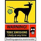 Toxic emissions hazard sign by RichSkipworth