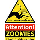 Zoomies hazard sign by RichSkipworth