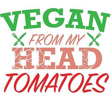 Vegan Tomatoes by Design123