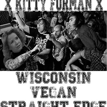xVx Wisconsin xVx VEGAN Straight Edge by KarasuZetsubou