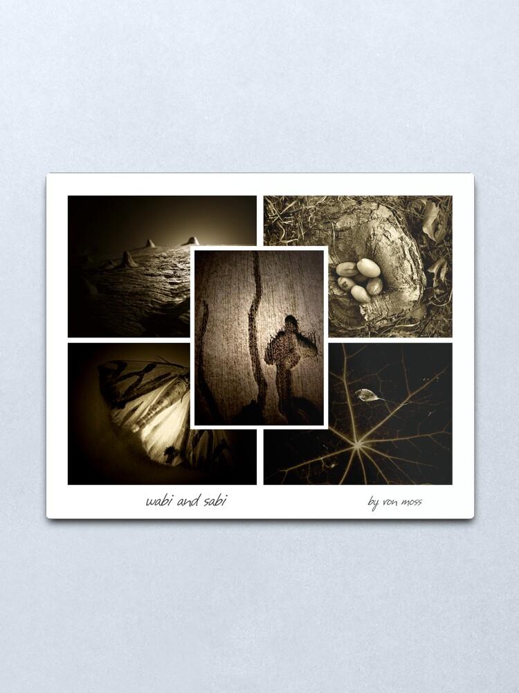Alternate view of wabi and sabi Metal Print