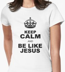 BE LIKE JESUS Womens Fitted T-Shirt