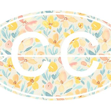 Amarillo floral CC de its-anna