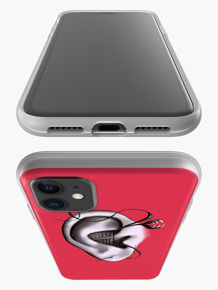 Alternate view of Ear Monster Weird Art iPhone Case & Cover