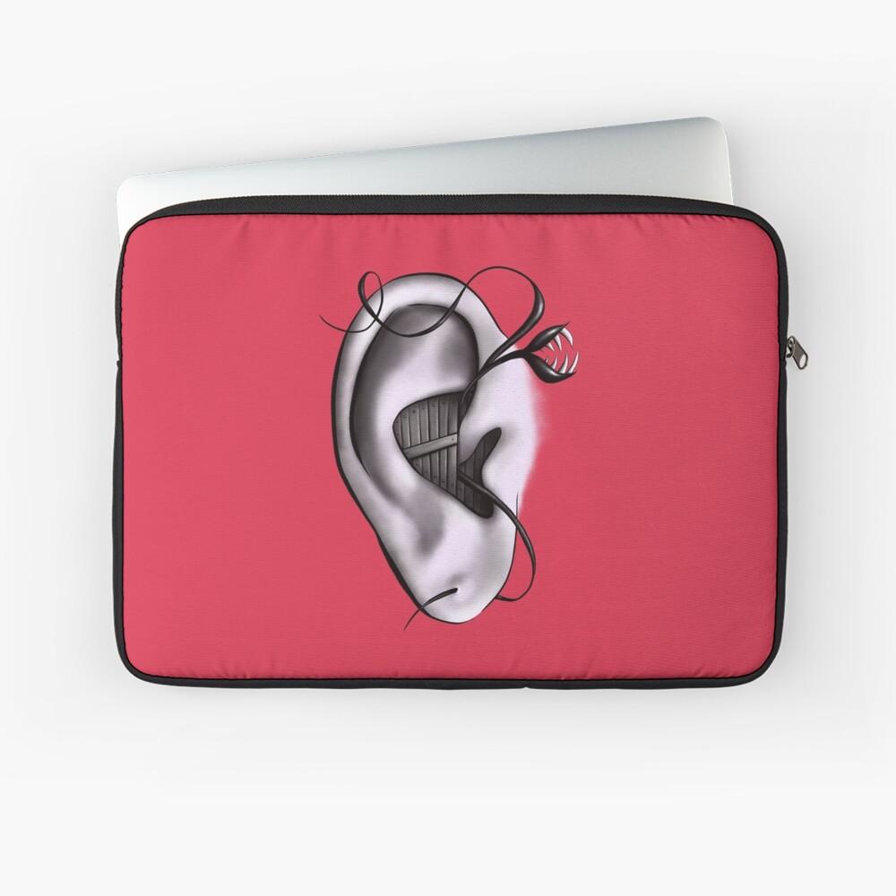 Ear Monster Weird Art Laptop Sleeve