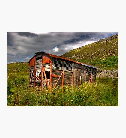 Abandoned Wagon #1 Photographic Print