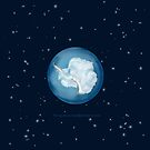 Antarctica, Earth from Space  by PixelMnM