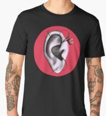 Ear Monster Weird Art Men's Premium T-Shirt